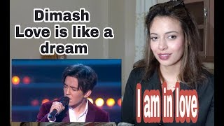 Download Dimash Kudaibergen - Love is Like a Dream / REACTION Mp3 and Videos