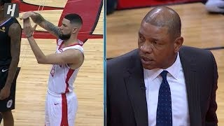 Austin Rivers Gets His Dad Doc Rivers EJECTED - Clippers vs Rockets | 2019-20 NBA Season