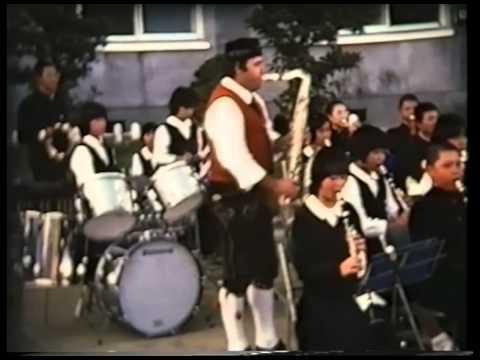 Japan, 1977, Gastspielreise Volkstanzgruppe Frommern Youtube