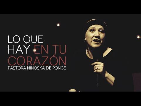 Pastora Ninoska de Ponce- Lo Que Hay En Tu Corazón- martes 18 de agosto, 2015