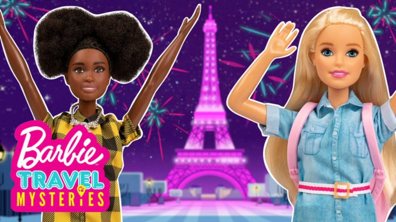 Barbie and Daisy Race to Paris to solve the Mystery | Barbie Travel Mysteries: Finale | Barbie