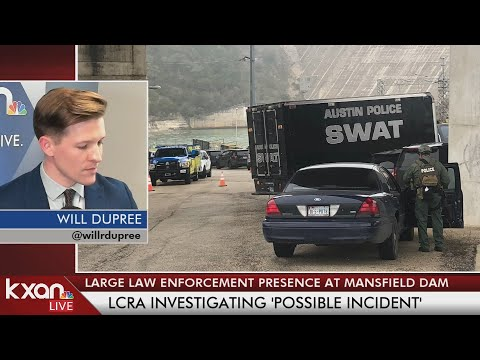 Active SWAT Situation Happening At Mansfield Dam In West Austin
