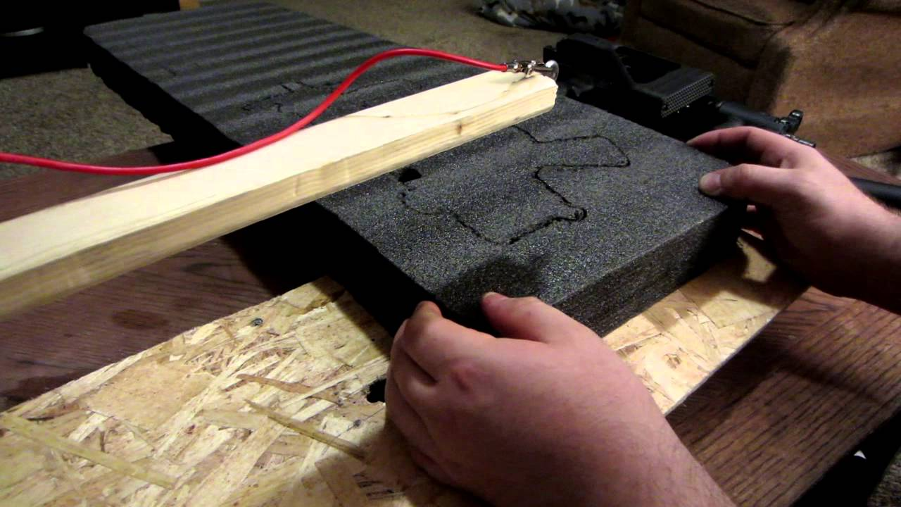 Homemade Wire Foam Cutter Kaizen Foam Gun Case Youtube