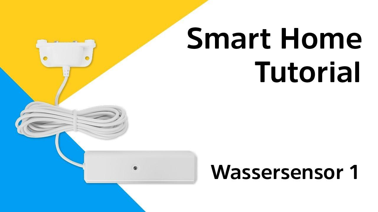 Video: Wassersensor 1 Anleitung | So binden Sie den Wassersensor 1 in Ihr Smart Home System ein.