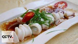 Китайская кухня: Вареное в сое мясо с каракатицами в горшочке
