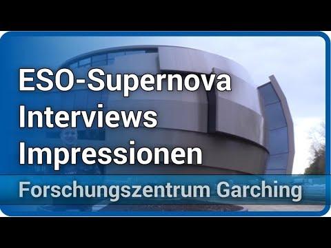 Tag der offenen Tür am Forschungszentrum Garching • ESO Supernova • Interviews | Andreas Müller