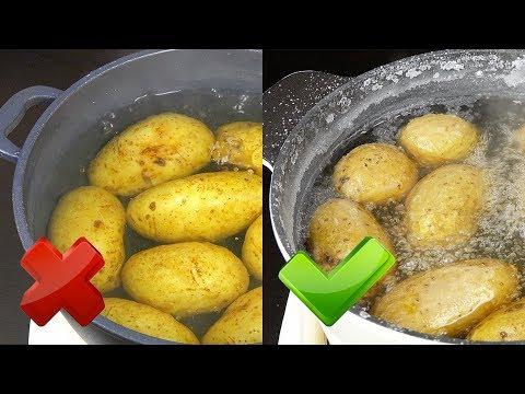 Как быстро отварить картошку