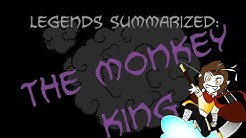 Legends Summarized: The Monkey King (Journey To The West Part 1)