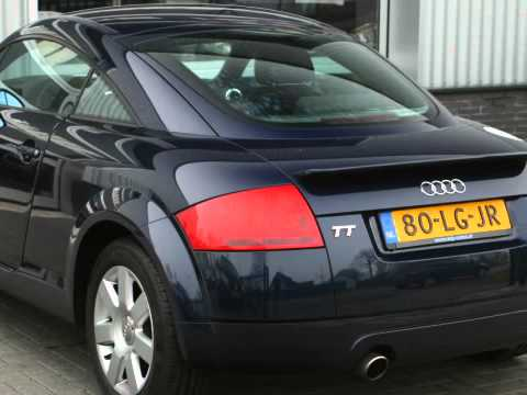 Audi Tt Coupe 18 5v Turbo 180pk Tiptronic Nl Auto Youtube