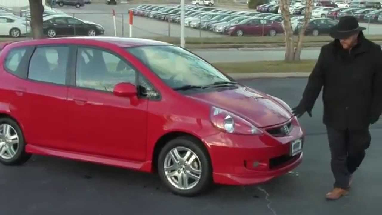 Good Used 2008 Honda Fit Sport For Sale At Honda Cars Of Bellevue...an Omaha  Honda Dealer!
