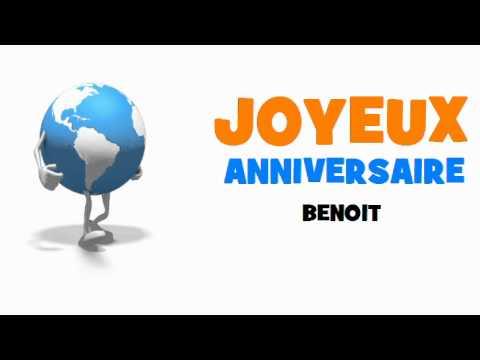 Joyeux Anniversaire Benoit Youtube