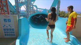 Water Slides at Dolusu Park in Kemer Antalya