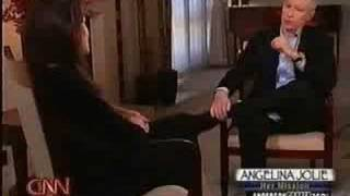 Angelina Jolie on CNN's Anderson Cooper 360