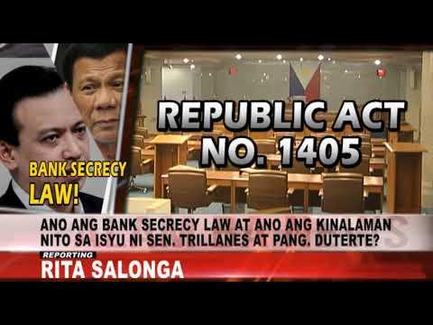 Alam Ba News: Ano ang ibig sabihin ng Bank Secrecy Law?