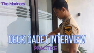Deck cadet interview practice || marine job