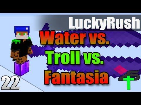 Water vs. Troll vs. Fantasia | Lucky Rush | #22 | Items4Sacred Mit Earliboy und baastiZockt [GER]