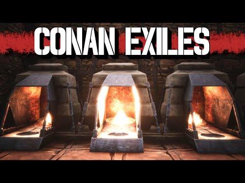 Conan Exiles Deutsch Gameplay | Der neue Schmiederaum | 22 | German Lets Play