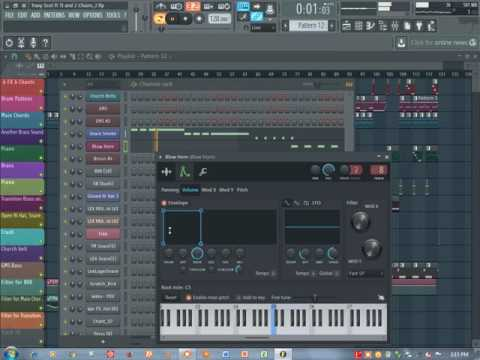 Travi$ Scott ft T.I.  2 Chains Upper Echelon FL Studio TUTORIAL