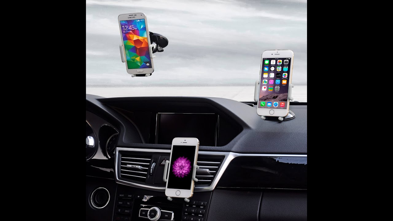 Super 3 In 1 Universal Car Phone Holder On Amazon Com