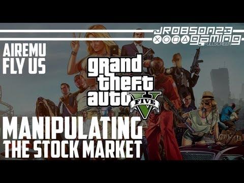 GTAV: Attempting To Manipulate The Stock Markets (AirEmu/FlyUS) - ENDGAME
