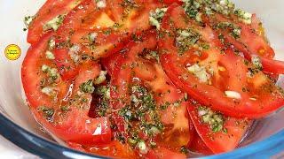 Готовьте сразу Двойную Порцию Закуски из помидоров Помидоры по итальянски рецепт