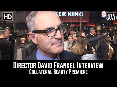 Director David Frankel Premiere Interview - Collateral Beauty