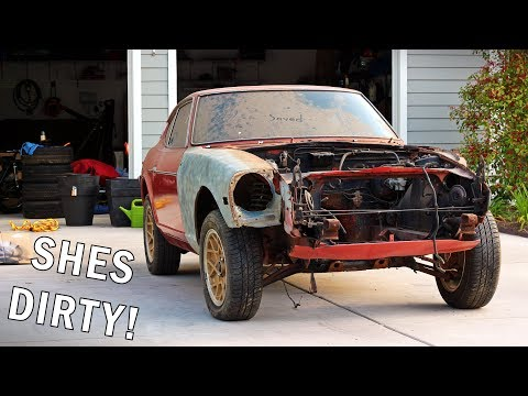 The Datsun Build // Part 1: Cleaning It Up