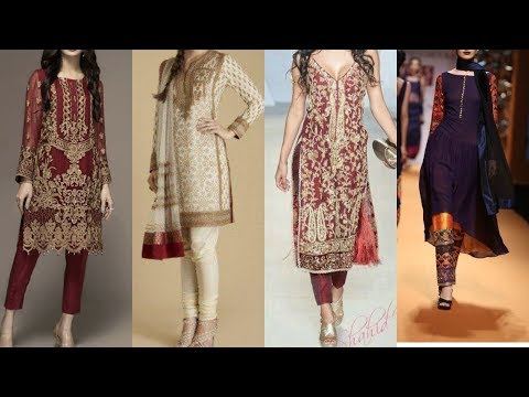 Most demanding &trending fashion trend of churidar dresses with new look & latest style