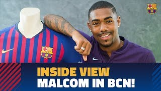 [behind the scenes] 24 hours with malcom in barcelona