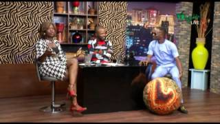 The Nighr Show - INTERVIEW WITH DEE ONE Comedian  Wazobia TV