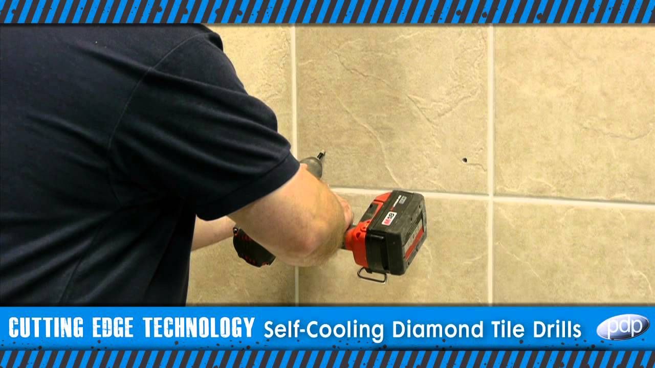How To Drill Porcelain And Hard Tiles Premier Diamond SelfCooling - Best drill bit for porcelain tile uk