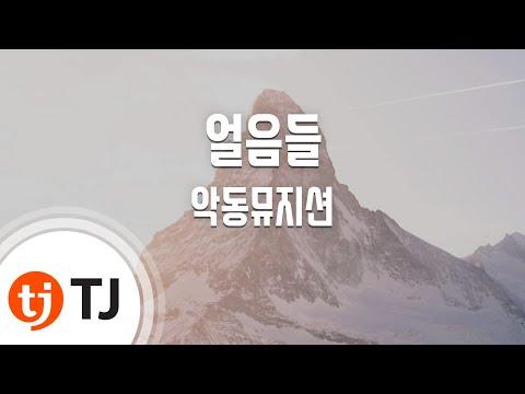 Melted 얼음들_AKMU 악동뮤지션_TJ노래방(Karaoke/lyrics/Korean reading sound)