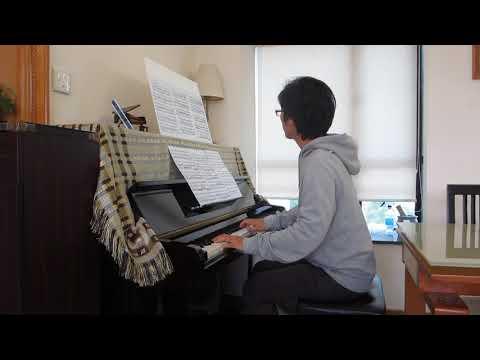 Beethoven: Violin Sonata No.1 - 2nd Movement - Piano Part [Slow Tempo]