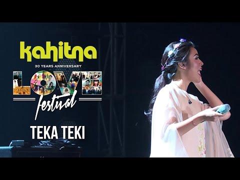 Raisa - Teka Teki | (Kahitna Love Festival Concert)