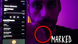 (I was MARKED) Using EVP to contact GHOST in haunted house..this happened|creepy paranormal activity
