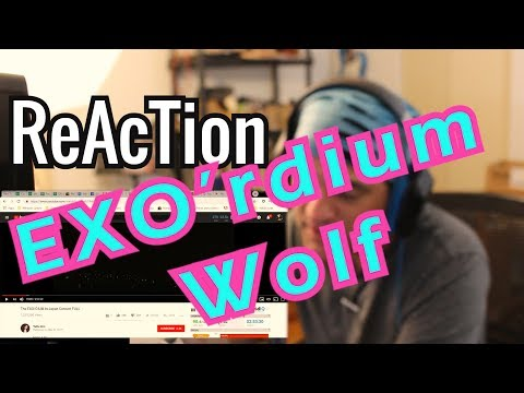 Reaction EXO- Wolf The EXO'rDIUM IN JAPAN // Review // Live