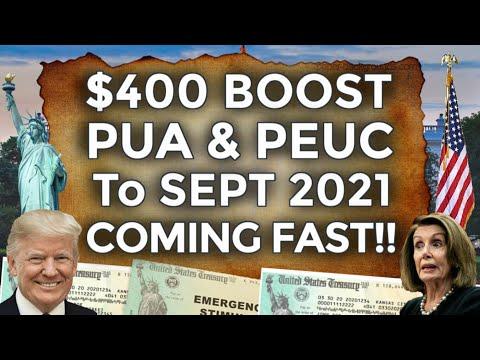 BREAKING!! $400 UNEMPLOYMENT BENEFITS EXTENSION UPDATE LWA PUA PEUC FPUC SSI EDD BOOST