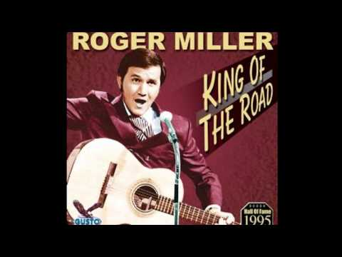 Roger Miller- King Of The Road  (Lyrics in description)- Roger Miller Greatest Hits