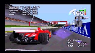 F1 World Grand Prix (1999) | Ferrari / Schumacher | Spa / Belgian GP | PlayStation/PS1/PSX HD