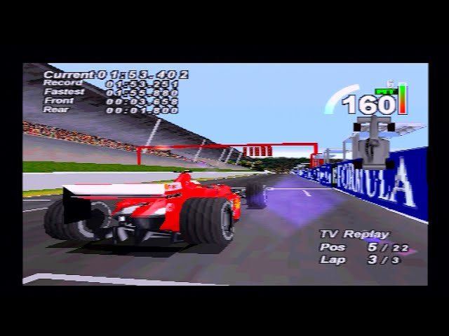 F1 World Grand Prix (1999) | Ferrari / Schumacher | Spa / Belgian GP | PlayStation/PS1/PSX HD