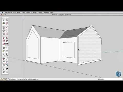 Sketchup Tutorial For Beginners-Part 2