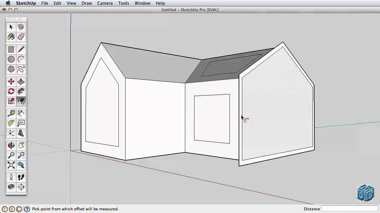 Sketchup Tutorial For Beginners Part 2 Youtube Sketch Up