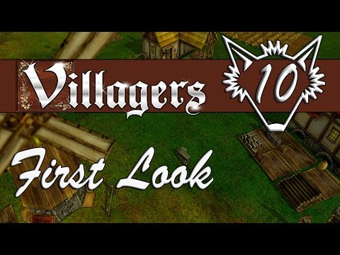 Villagers | Windmills and Mills, Baking that Bread, More Merchants | Gameplay Let's Play | Part 10