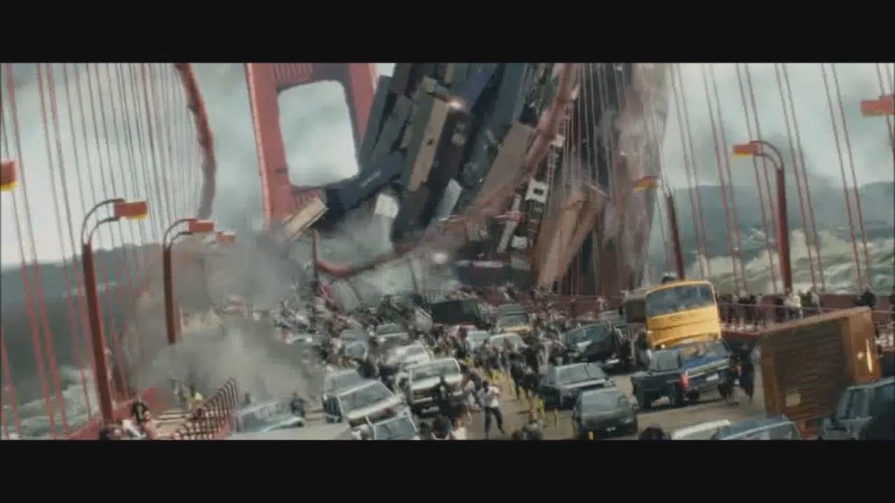 San Francisco Bridge Hd Wallpaper All Destruction Scenes 2 Youtube