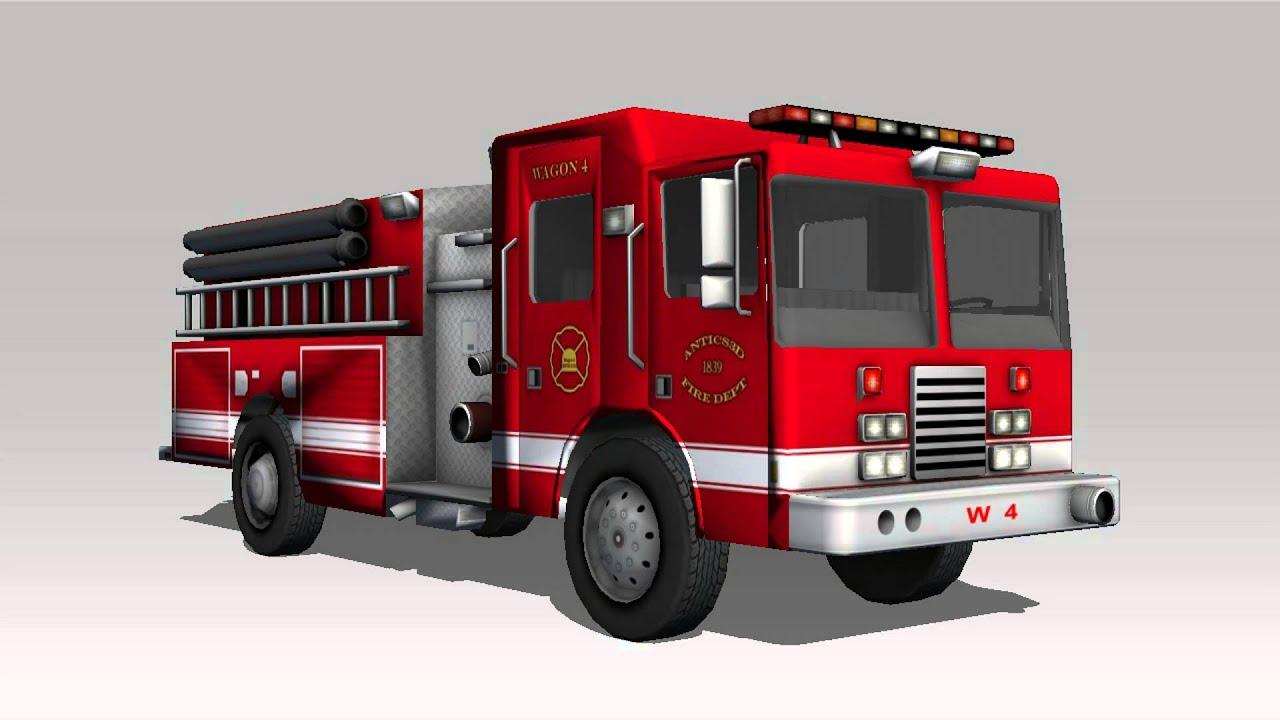 Fire Truck Siren Sound