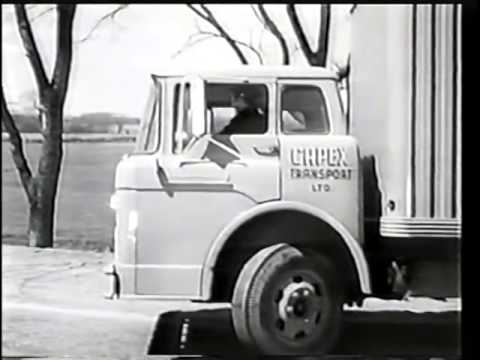 CANNONBALL   1958   Paul Birch, William Campbell   great Canadian TV    truckers