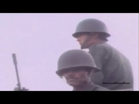 Moroccan soldiers in 1970-1989 | HD
