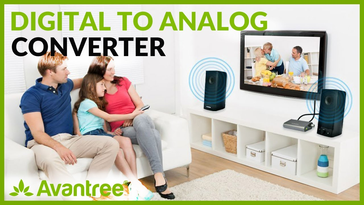 Wonderlijk DAC Digital to Analog Converter, Optical / Coaxial Audio to RCA UU-73