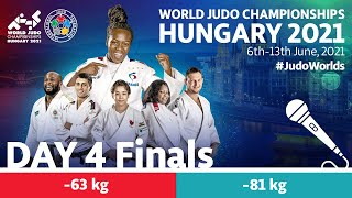 Day 4 - Finals: World Judo Championships Hungary 2021