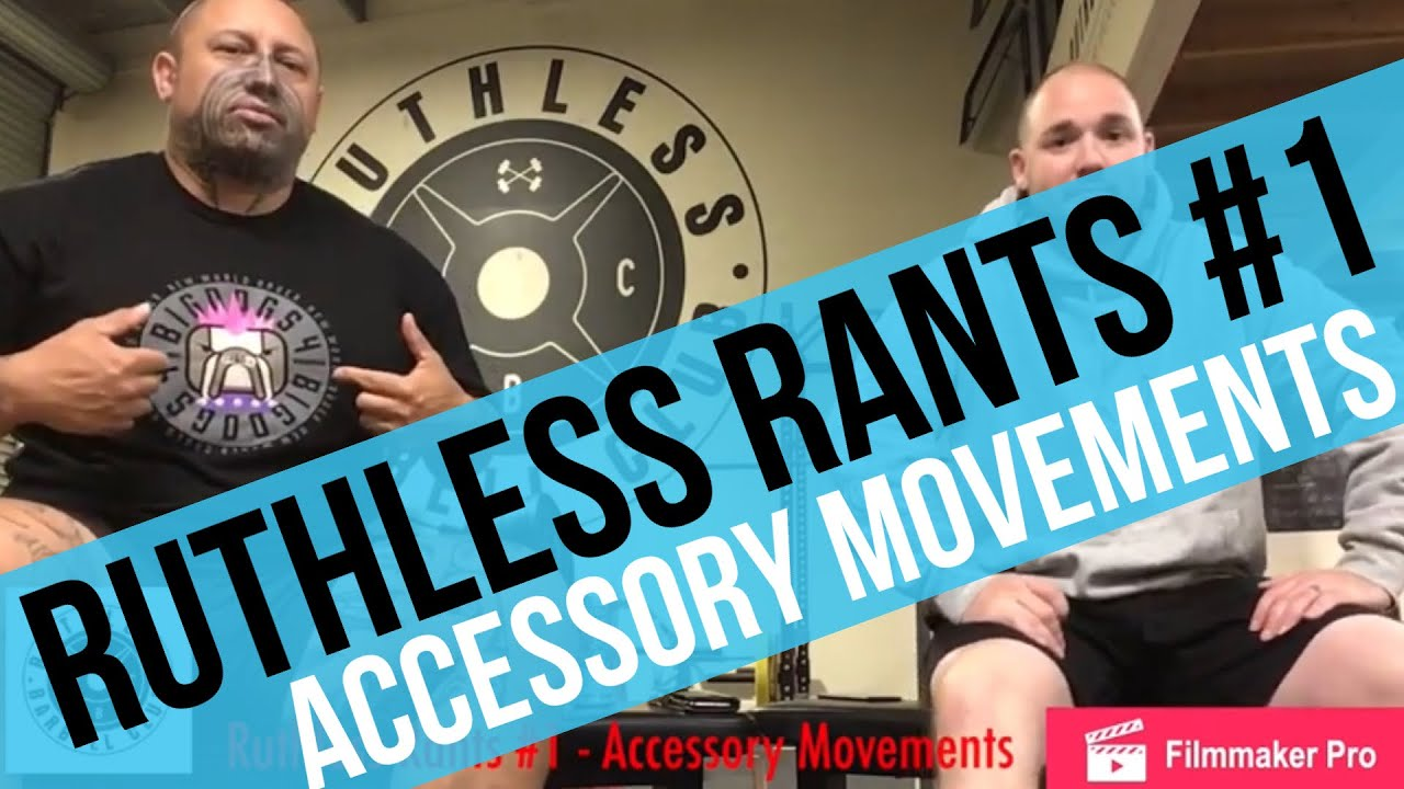 Ruthless Rants #1 - Accessory Movements